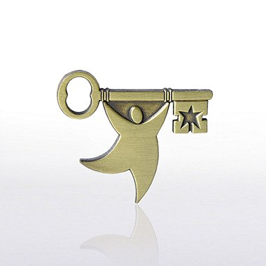 Lapel Pin - T.E.A.M. Key