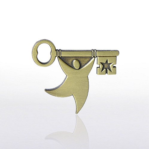T.E.A.M. Key Lapel Pin