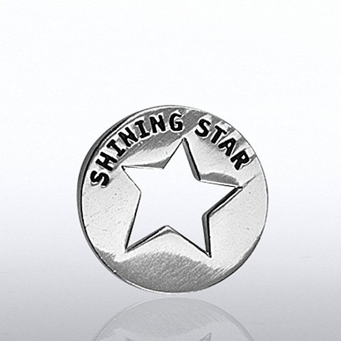 Shining Star Milestone Lapel Pin