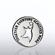 Lapel Pin - Milestone - TEAM Guy Round