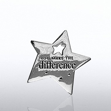 Lapel Pin - Milestone - You Make the Difference Star
