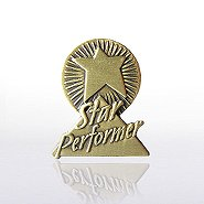 Lapel Pin - Star Performer