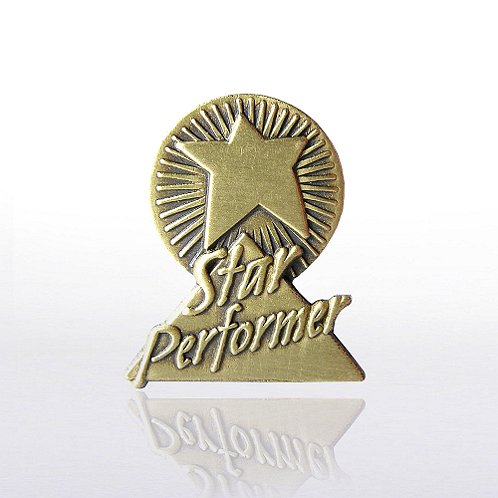Star Performer Lapel Pin