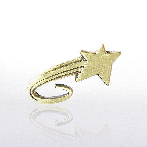 Rising Star Lapel Pin