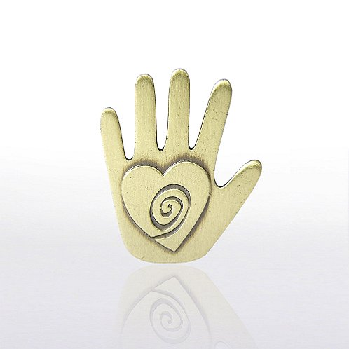 Helping Hand Lapel Pin