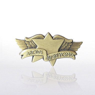 Lapel Pin - Above and Beyond Wings
