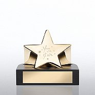 Paperweight Trophy - You are a Star - Gold