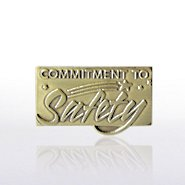 Lapel Pin - Commitment to Safety