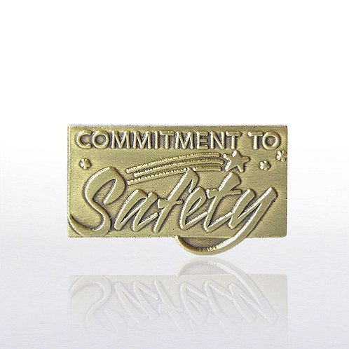 Commitment to Safety Lapel Pin