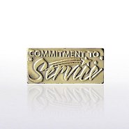 Lapel Pin - Commitment to Service