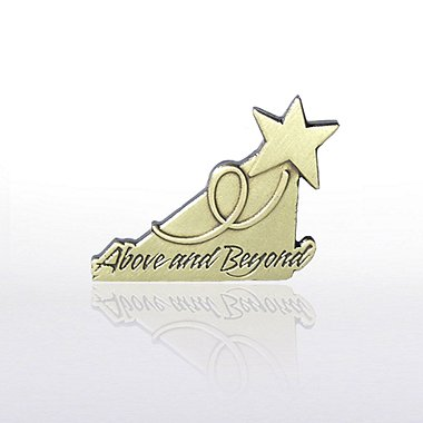 Lapel Pin - Cornerstone Above and Beyond