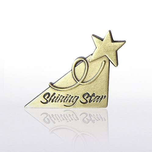 Cornerstone Shining Star Lapel Pin