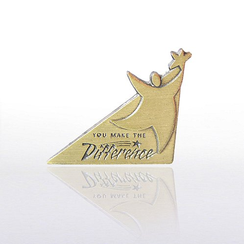 Cornerstone You Make the Difference Lapel Pin