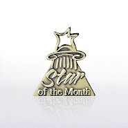 Lapel Pin - Star of the Month
