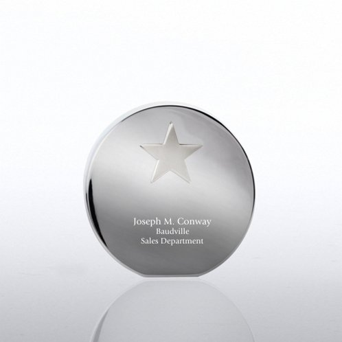 Star Desktop Paperweight Trophy