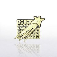 Lapel Pin - Perfect Attendance Chart