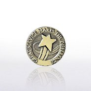 Lapel Pin - Great Service