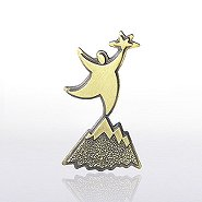 Lapel Pin - Peak Performer