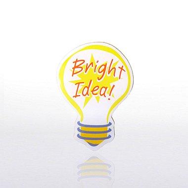 Lapel Pin - Bright Idea - Multi Color