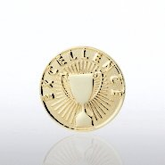 Lapel Pin - Excellence Cup