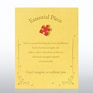 Character Pin - Essential Piece - Gold Card