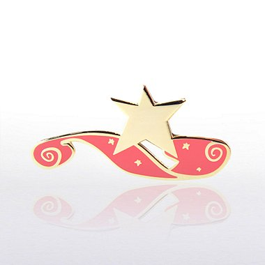 Lapel Pin - Red Carpet Star