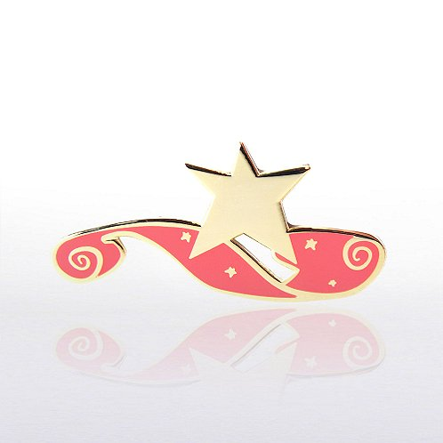 Red Carpet Star Lapel Pin