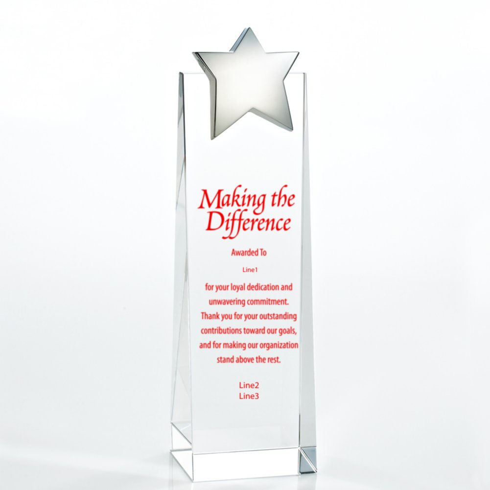 Crystalline Tower Trophy - Star
