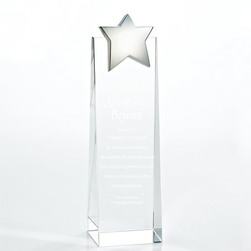 Star Crystalline Tower Trophy