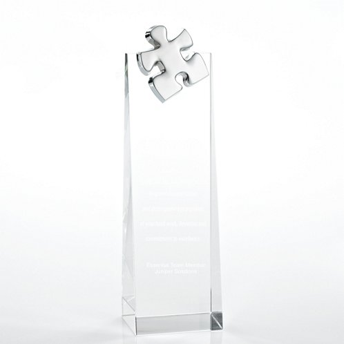 Essential Piece Crystalline Tower Trophy