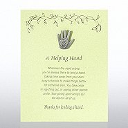 Character Pin - Hand: A Helping Hand - Green Card
