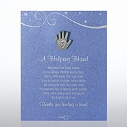 Character Pin - Hand: A Helping Hand - Blue Card