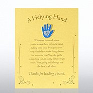 Character Pin - Hand: A Helping Hand - Gold Card