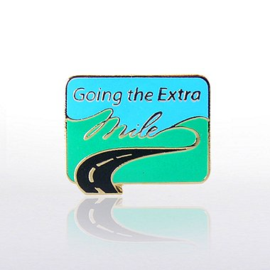 Lapel Pin - Going the Extra Mile