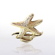 Lapel Pin - Starfish Waves