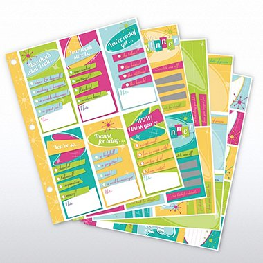 Recognition Binder System - Retro - Refill