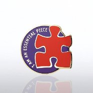 Lapel Pin - I am an Essential Piece