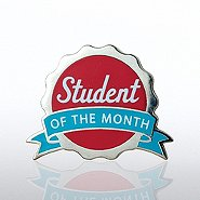 Lapel Pin - Student of the Month - Seal
