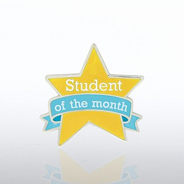 Lapel Pin - Student of the Month - Star