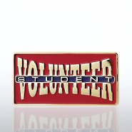 Lapel Pin - Student Volunteer
