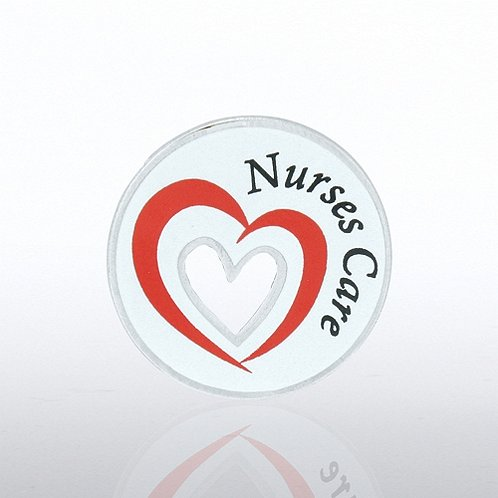 Nurses Care Lapel Pin