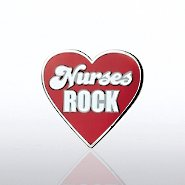 Lapel Pin - Nurses Rock