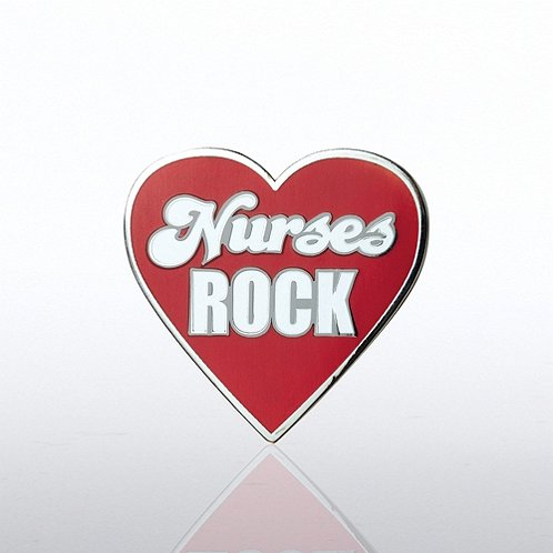 Nurses Rock Lapel Pin