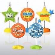 PVC Memo Clips - Thank You Edition!