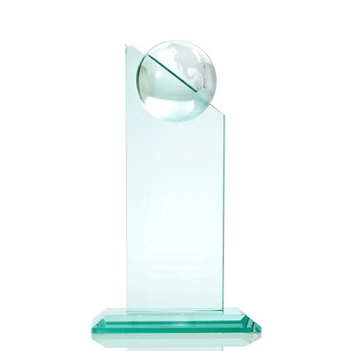 Globe Tower Jade Trophy