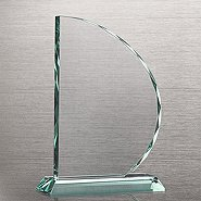 Elite Jade Trophy - Beveled Sail