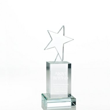 Crystal Rising Star Trophy