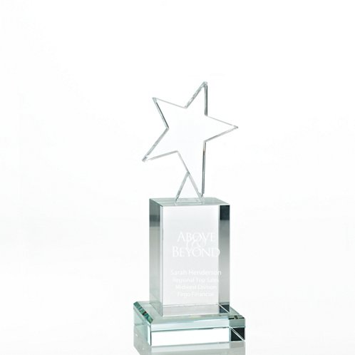 Rising Star Crystal Trophy