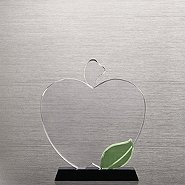 Crystal Apple Trophy