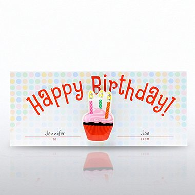 LED Lapel Pin - Happy Birthday!